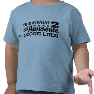 2do Cumpleaños Camisetas