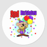 2do Cumpleaños de Australia del cumpleaños Etiqueta Redonda