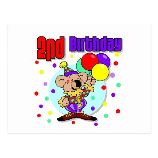 2do Cumpleaños de Australia del cumpleaños Tarjetas Postales