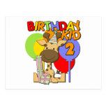2do cumpleaños de la jirafa postal