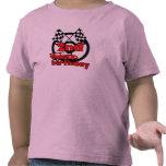 2do cumpleaños de las carreras de coches camisetas