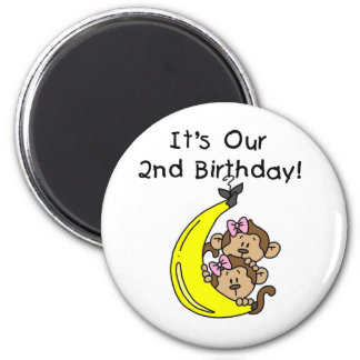 2do cumpleaños de los chicas de los monos gemelos  iman