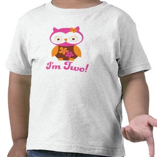 2do cumpleaños de los chicas camiseta
