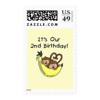 2do cumpleaños de los muchachos del mono gemelo envio