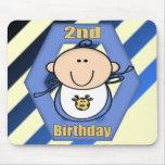 2do cumpleaños del bebé tapete de raton