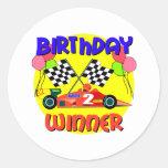 2do Cumpleaños del coche de carreras del Etiqueta Redonda