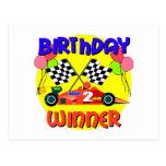 2do Cumpleaños del coche de carreras del Postal