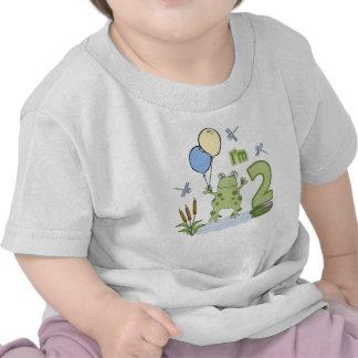 2do cumpleaños del Froggy Camisetas