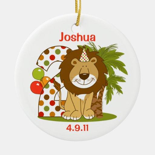 2do cumpleaños del león lindo ornatos