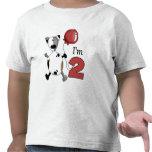 2do Cumpleaños del perrito del cumpleaños Camiseta