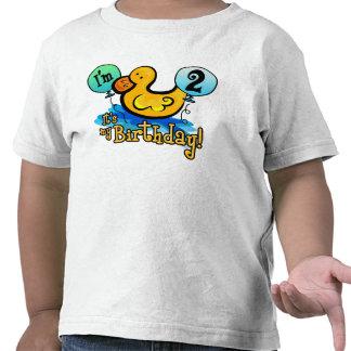 2do cumpleaños Ducky Camisetas