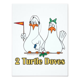 2do día de dos palomas de la tortuga en segundo comunicados personales