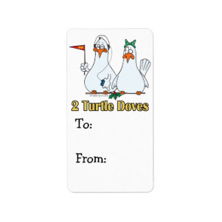 2do día de dos palomas de la tortuga en segundo lu etiquetas de dirección