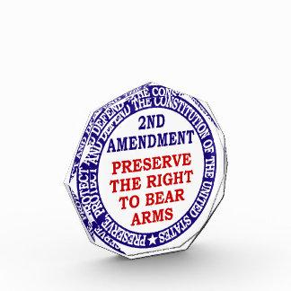 2do El círculo de la enmienda guarda y lleva los