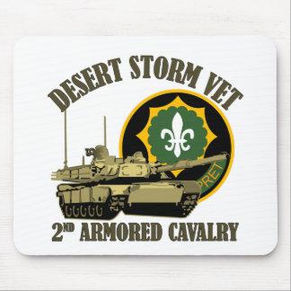 2do El tanque del veterinario M1 de la tormenta de Tapetes De Ratón