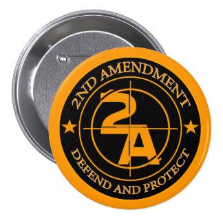 2do Enmienda 3 Pins