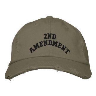 2do Enmienda Gorras De Beisbol Bordadas