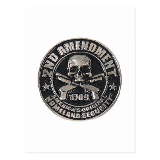 2do Enmienda Medal.png Postal