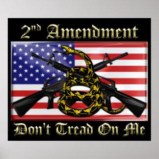 2do Enmienda Posters