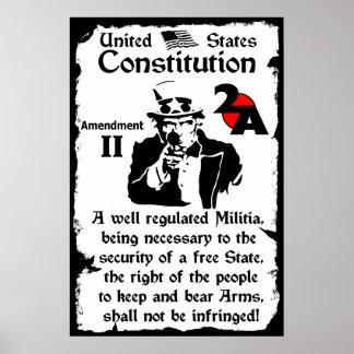 2do Enmienda Póster