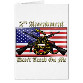 2do Enmienda Tarjeta