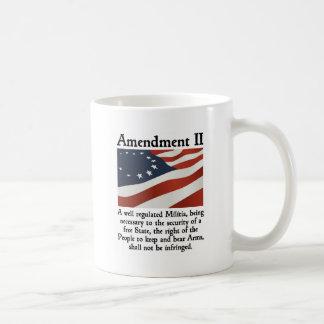2do Enmienda Tazas De Café