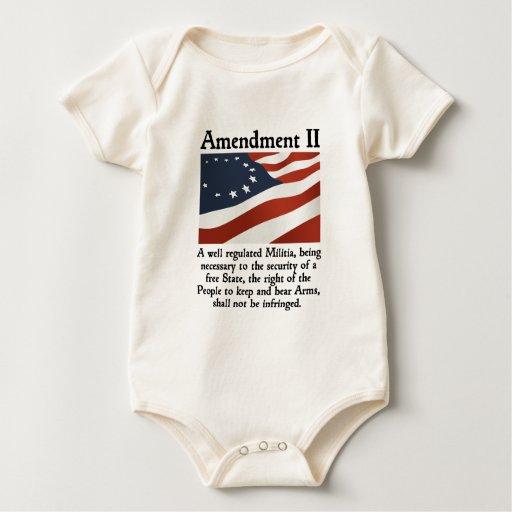 2do Enmienda Traje De Bebé