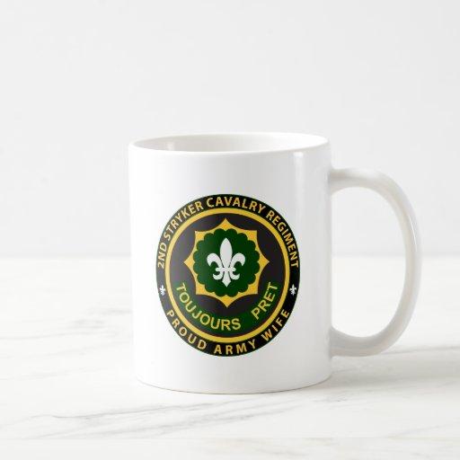 2do Esposa de la caballería Tazas De Café