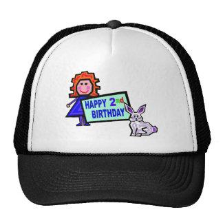 2do Gorra del chica del cumpleaños