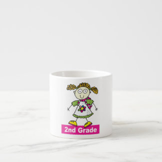 2do grado de los chicas taza espresso