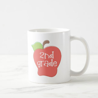2do grado lindo Apple Taza Clásica