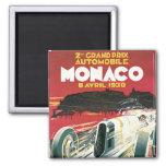 2do Grand Prix de Mónaco Imán Para Frigorífico