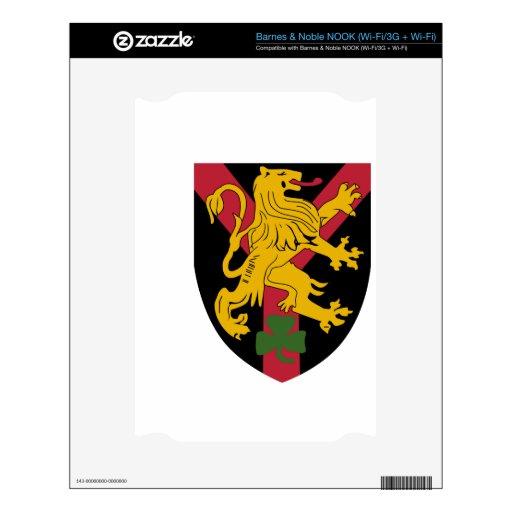 2do Grupo de brigada belga independiente NOOK Calcomanía