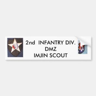 2do Inf Div 001, 2dos Inf Div 002, 2da INFANTERÍA… Pegatina Para Auto