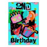 2do Invitaciones de la fiesta de cumpleaños Tarjeton