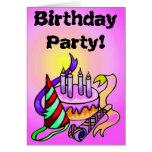 2do Invitaciones de la fiesta de cumpleaños Felicitaciones
