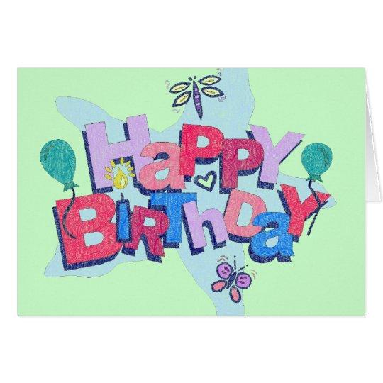 2do Invitaciones de la fiesta de cumpleaños Tarjeta De Felicitación