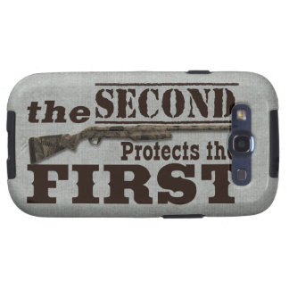 2do La enmienda protege la 1ra enmienda Samsung Galaxy S3 Funda