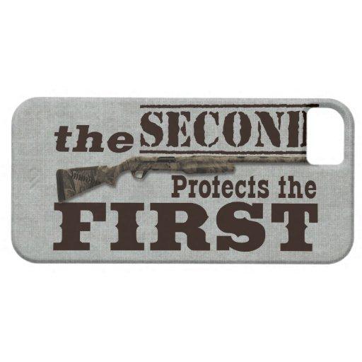 2do La enmienda protege la 1ra enmienda iPhone 5 Cobertura