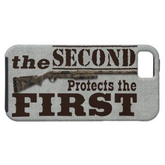 2do La enmienda protege la 1ra enmienda Funda Para iPhone SE/5/5s