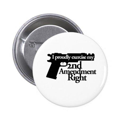 2do Las derechas de la enmienda Pin