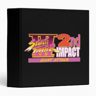 2do logotipo del impacto de Street Fighter III