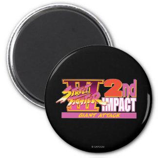 2do logotipo del impacto de Street Fighter III Iman De Nevera