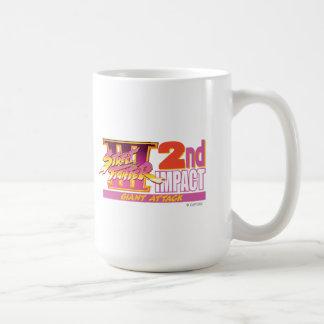 2do logotipo del impacto de Street Fighter III Taza