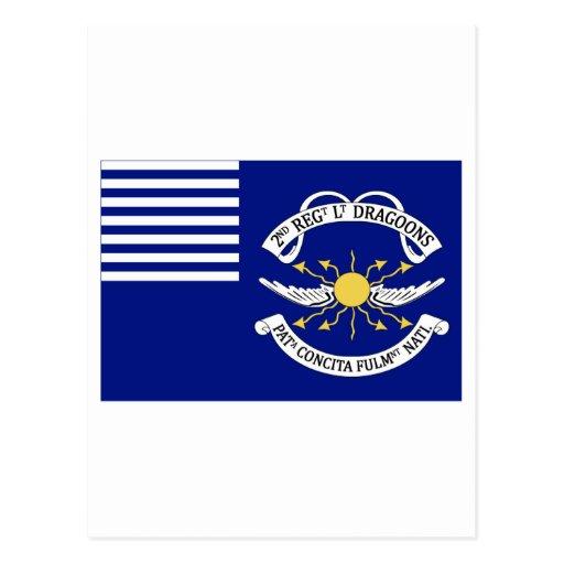 2do Lt Dragoons del regimiento Postales