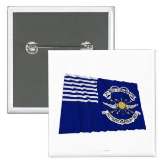2do Lt Dragoons Waving Flag del regimiento Pin