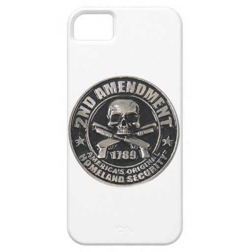2do Medalla de la enmienda iPhone 5 Funda