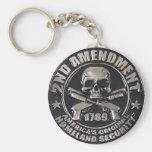 2do Medalla de la enmienda Llavero