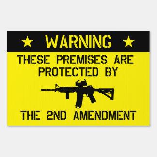 2do Muestra de la yarda de la enmienda