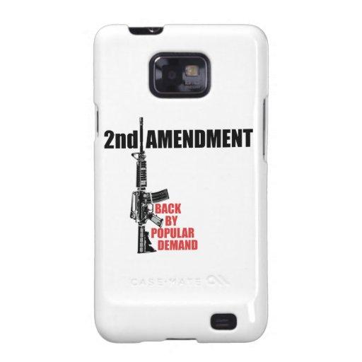 2do Parte posterior de la enmienda por demanda pop Galaxy S2 Carcasa
